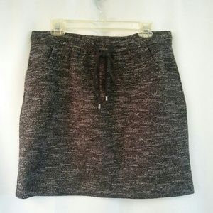 Ann Taylor Loft Nubby Textured Skirt, L